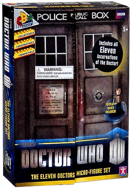 Doctor Who The Eleven Doctors Mini Figure Set