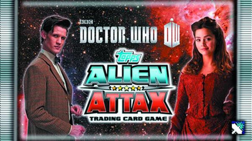 Doctor Who Alien Attax Booster Box