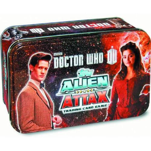 Doctor Who Alien Attax Collectible Tin