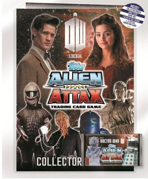 Doctor Who Alien Attax Starter Pack