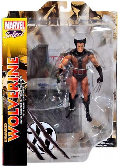 Marvel Select Unmasked Wolverine Action Figure