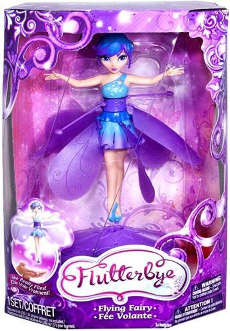 Flutterbye Stardust Flying Fairy Doll [Blue & Purple]