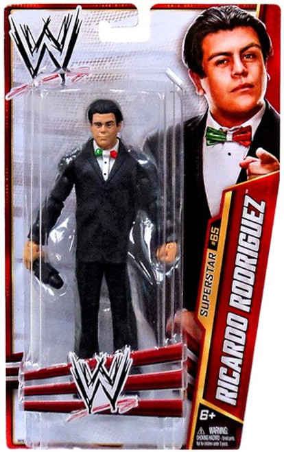 WWE Wrestling Series 34 Ricardo Rodriguez Action Figure #65