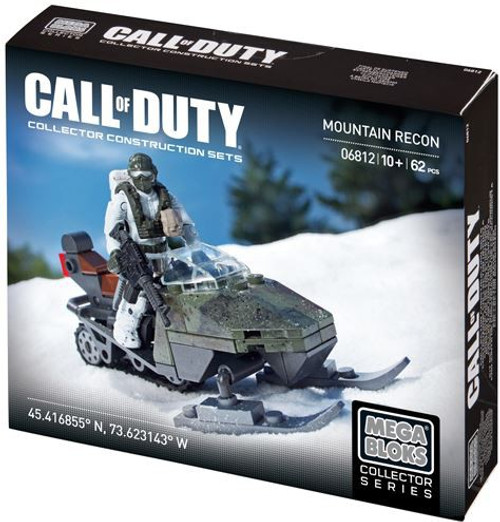 Mega Bloks Call of Duty Mountain Recon Set #06812