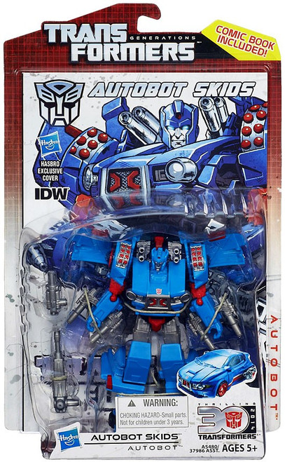 Transformers Generations 30th Anniversary Deluxe IDW Autobot Skids Deluxe Action Figure