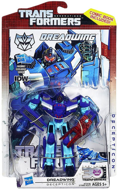 Transformers Generations 30th Anniversary Deluxe IDW Dreadwing Deluxe Action Figure