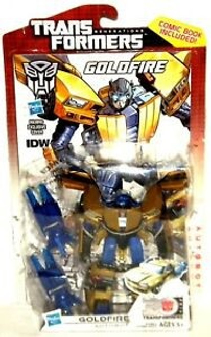 Transformers Generations 30th Anniversary Deluxe Goldfire Deluxe Action Figure