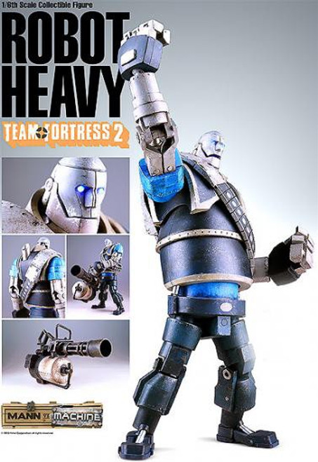 Team Fortress 2 Mann vs. Machine Blu Heavy 1/6 Collectible Figure