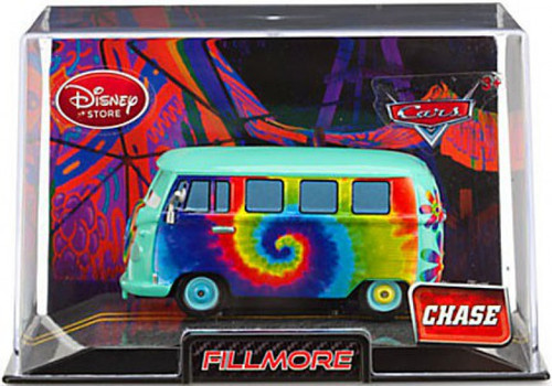 Disney Cars Cars 2 1:43 Collectors Case Fillmore Exclusive Diecast Car [Chase Edition]