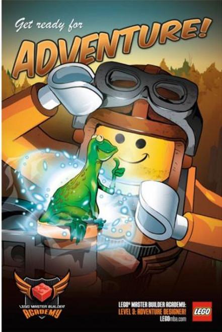 LEGO Master Builder Academy Poster Exclusive #5001049