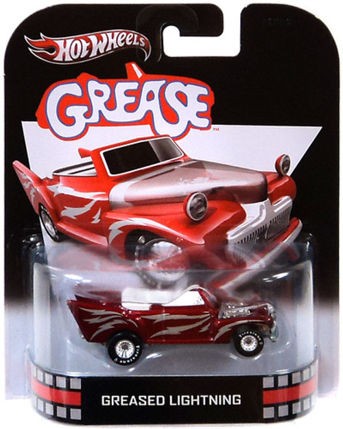 Hot Wheels Retro Greased Lightning Diecast Vehicle