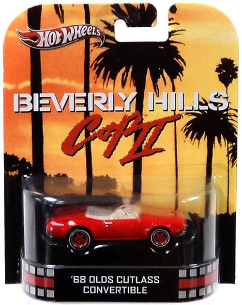 Beverly Hills Cop II Hot Wheels Retro '68 Olds Cutlass Convertible Diecast Vehicle