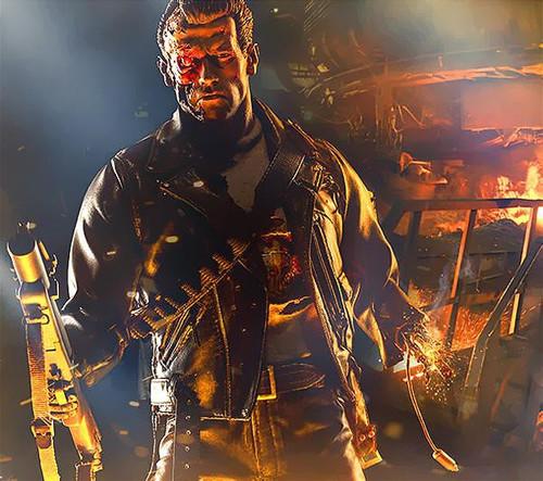 The Terminator Terminator 2 Judgment Day Battle Damaged T-800 Terminator Polystone Statue