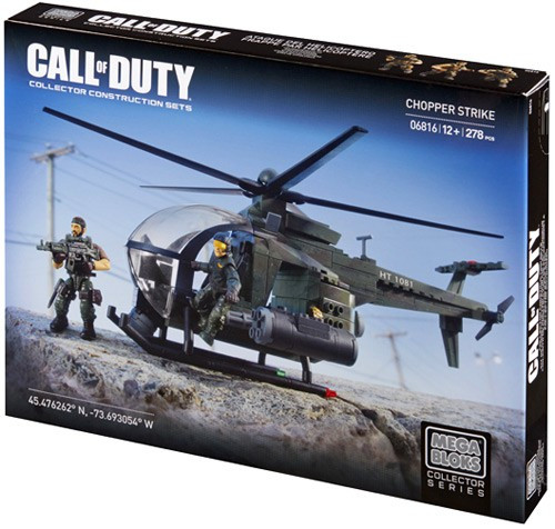 Mega Bloks Call of Duty Chopper Strike Set #06816