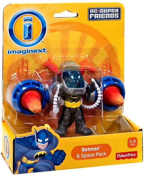 Fisher Price DC Super Friends Imaginext Batman & Space Pack 3-Inch Mini Figure