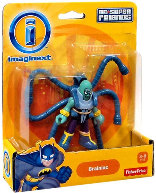 Fisher Price DC Super Friends Superman Imaginext Brainiac 3-Inch Mini Figure