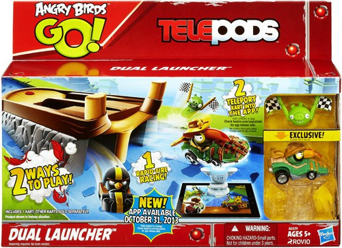 Angry Birds GO! Telepods Dual Launcher Mini Figure Set