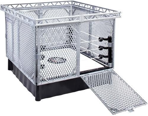 WWE Wrestling Steel Cage Superstar Ring