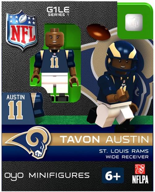 St. Louis Rams NFL Generation 1 Series 1 Tavon Austin Minifigure