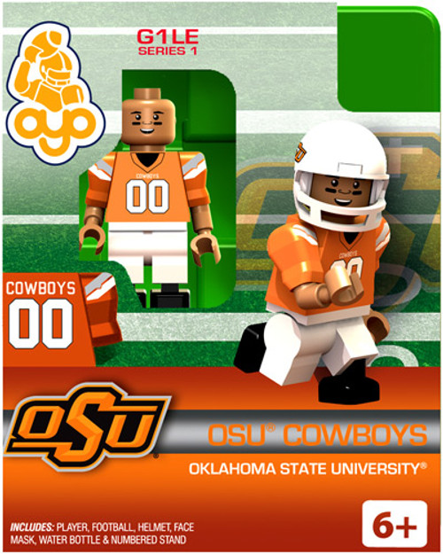 Oklahoma State Cowboys NCAA Generation 1 Series 1 OSU Cowboys Minifigure