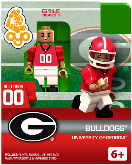 University of Georgia Bulldogs NCAA Generation 1 Series 1 Bulldogs Minifigure