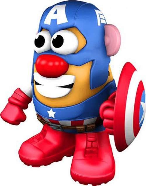 Marvel Mr Potato Head Captain America Figure