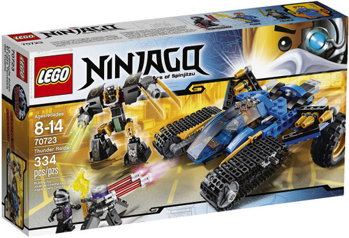 LEGO Ninjago Rebooted Thunder Raider Set #70723