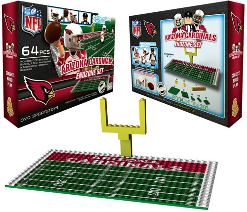 NFL Generation 1 Arizona Cardinals Endzone Set