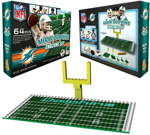 NFL Generation 1 Miami Dolphins Endzone Set