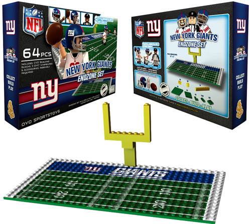 NFL Generation 1 New York Giants Endzone Set
