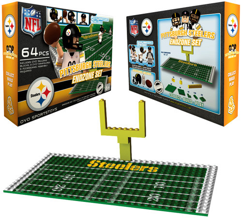 NFL Generation 1 Pittsburgh Steelers Endzone Set