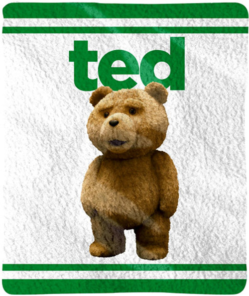 Ted Movie Ted Fleece Throw Blanket