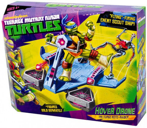 Teenage Mutant Ninja Turtles Nickelodeon Hover Drone Action Figure Vehicle