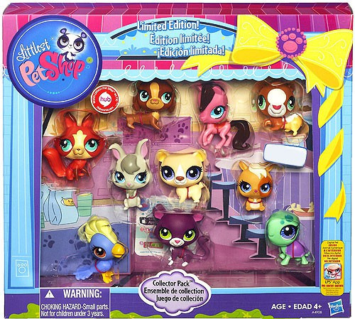 Littlest Pet Shop Collector Pack Exclusive Figure 10-Pack