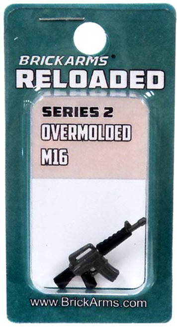 BrickArms Reloaded Series 2 Weapons M16 2.5-Inch [Overmolded] [New Sealed]
