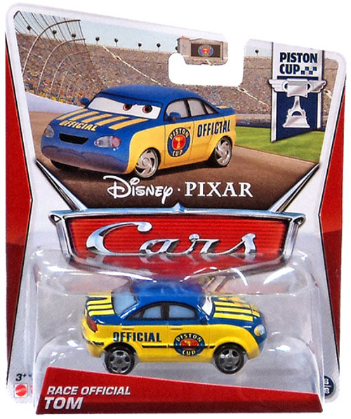 Disney Cars Series 3 Race Official Tom Diecast Car