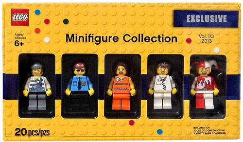 LEGO Exclusives Minifigure Collection Exclusive Set #5002146 [Volume 1]