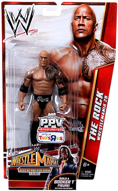 WWE Wrestling Best of PPV 2013 The Rock Exclusive Action Figure