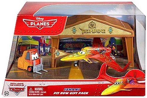 Disney Planes Pit Row Gift Pack Ishani Diecast Plane Set