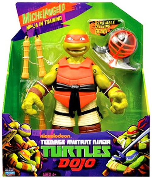 Teenage Mutant Ninja Turtles Nickelodeon Dojo Michelangelo Action Figure