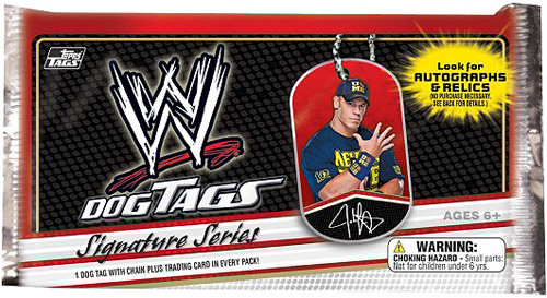 WWE Wrestling 2013 Signature Series Dog Tag Pack