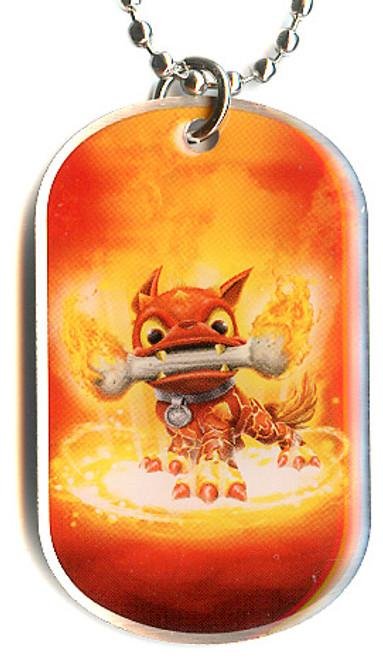 Skylanders Swap Force Hot Dog Dog Tag #9 [Loose]