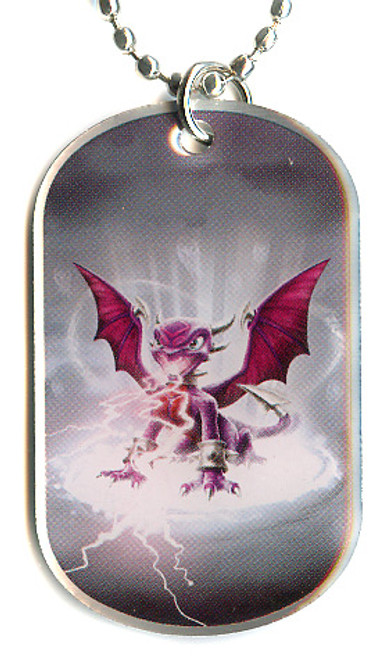 Skylanders Swap Force Cynder Dog Tag #18 [Loose]