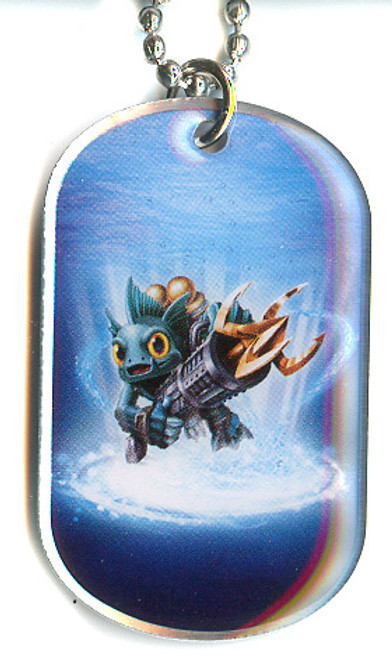 Skylanders Swap Force Gill Grunt Dog Tag #22 [Loose]