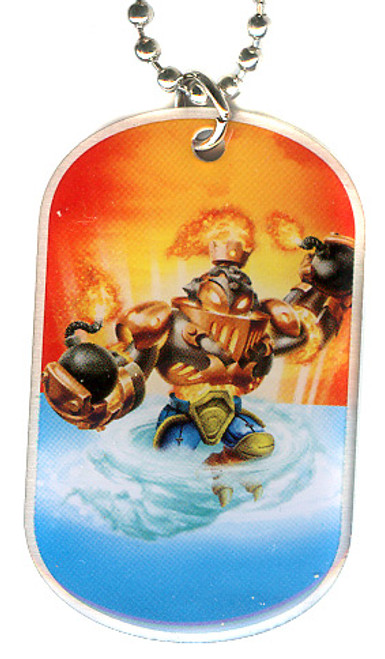 Skylanders Swap Force Blast Ranger Dog Tag #28 [Loose]