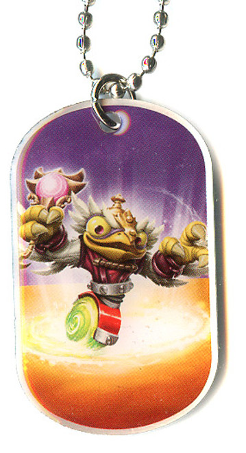 Skylanders Swap Force Hoot Charge Dog Tag #37 [Loose]