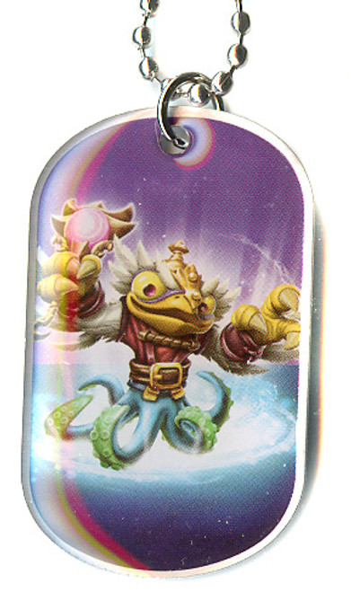 Skylanders Swap Force Hoot Buckler Dog Tag #38 [Loose]