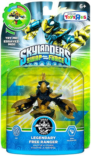 Skylanders Swap Force Swappable Legendary Free Ranger Figure Pack