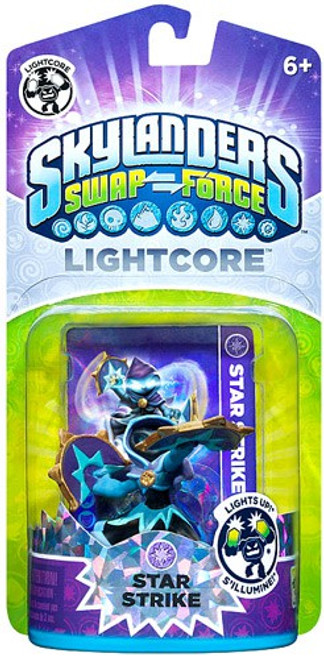 Skylanders Swap Force Lightcore Star Strike Figure Pack