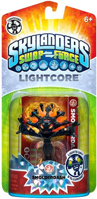 Skylanders Swap Force Lightcore Smolderdash Figure Pack